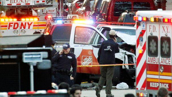 Lieu de l'attentat à Manhattan - Sputnik France