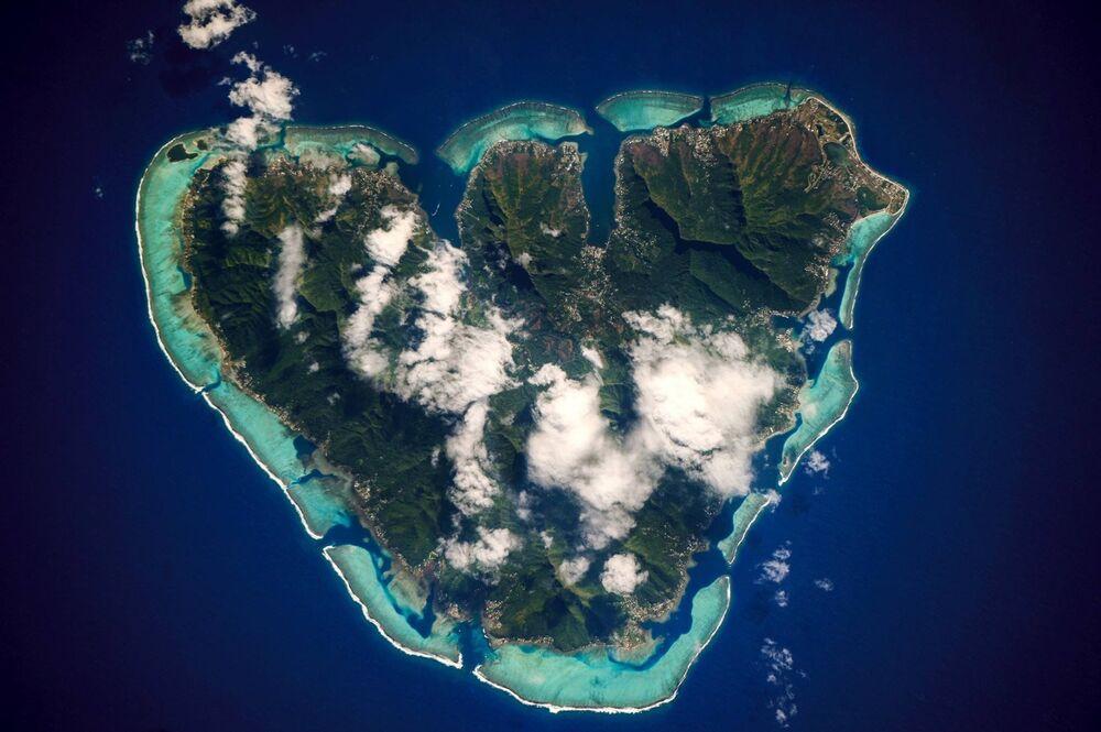Île de Moorea en Polynésie français