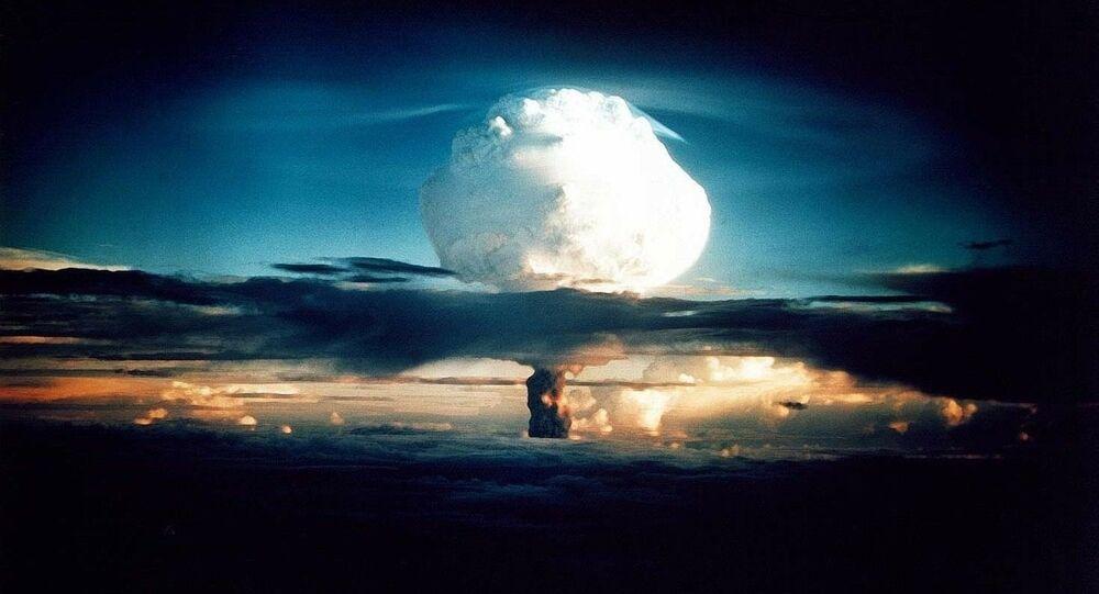 Un champignon atomique
