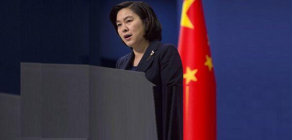 Hua Chunying, porte-parole du ministère chinois des Affaires étrangères - Sputnik France