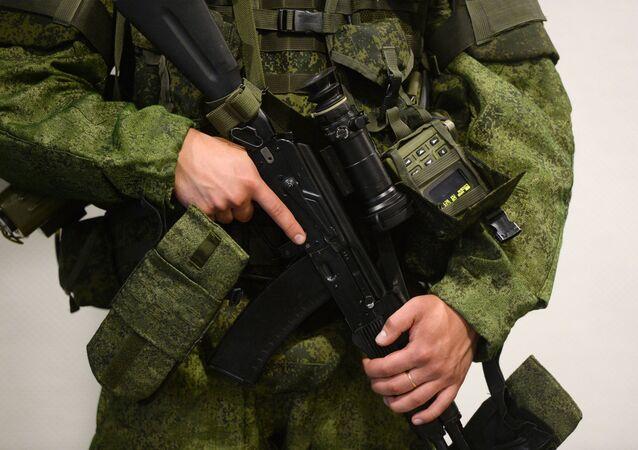 L'équipement de combat Ratnik