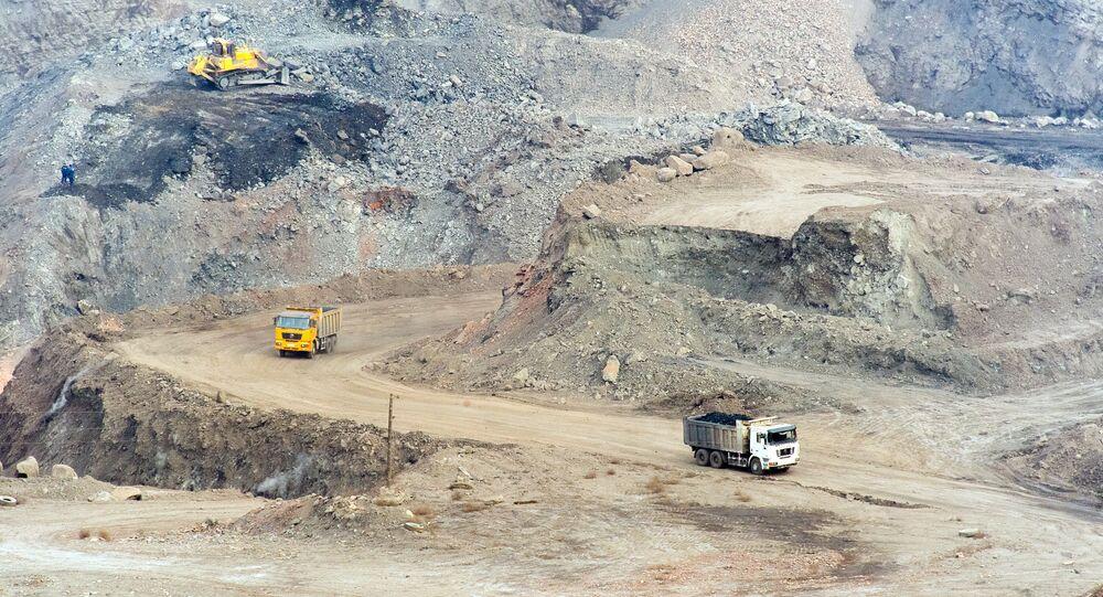 Extraction charbonnière dans la région de Tcheliabinsk
