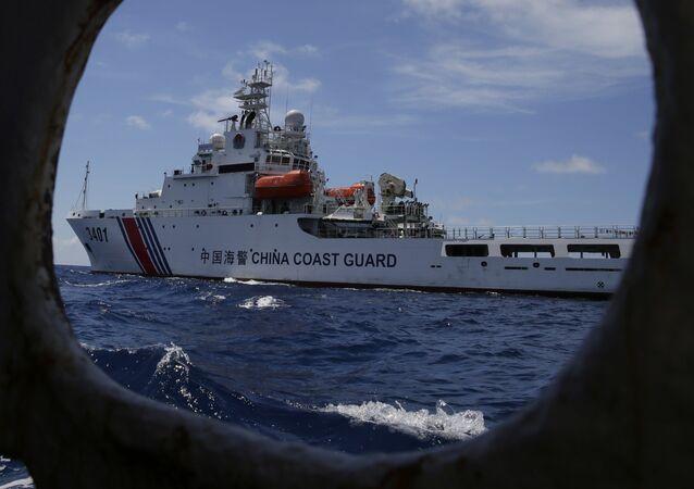 Un navire de la Garde côtière chinoise