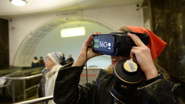 Revolution 360 dans le métro de Moscou - Sputnik France