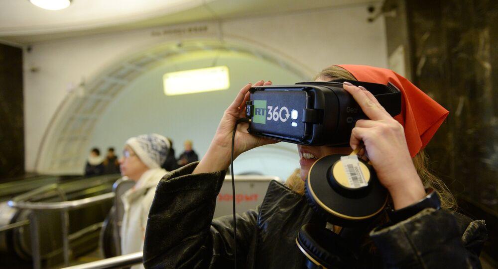 Revolution 360 dans le métro de Moscou
