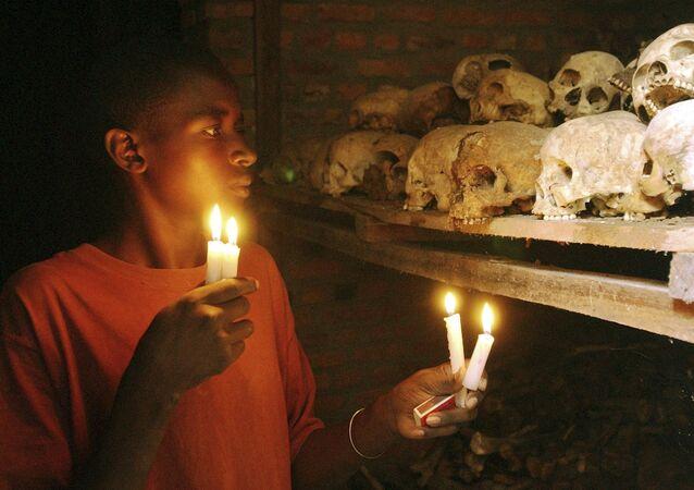Survivant du génocide des Tutsis au Rwanda