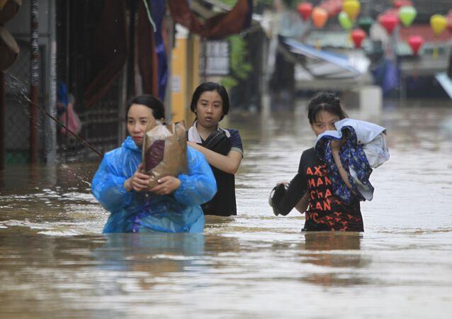 Conséquences du typhon au Vietnam