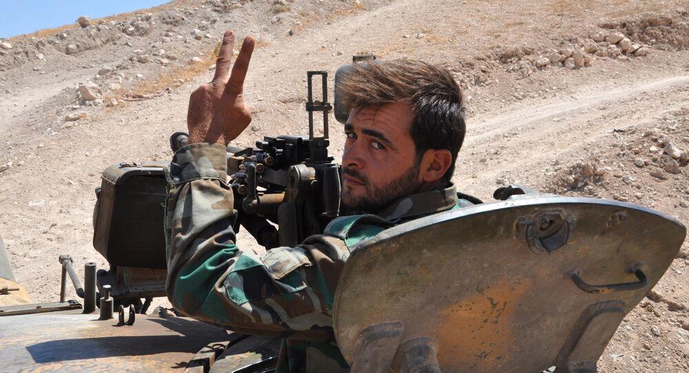 Un militaire syrien