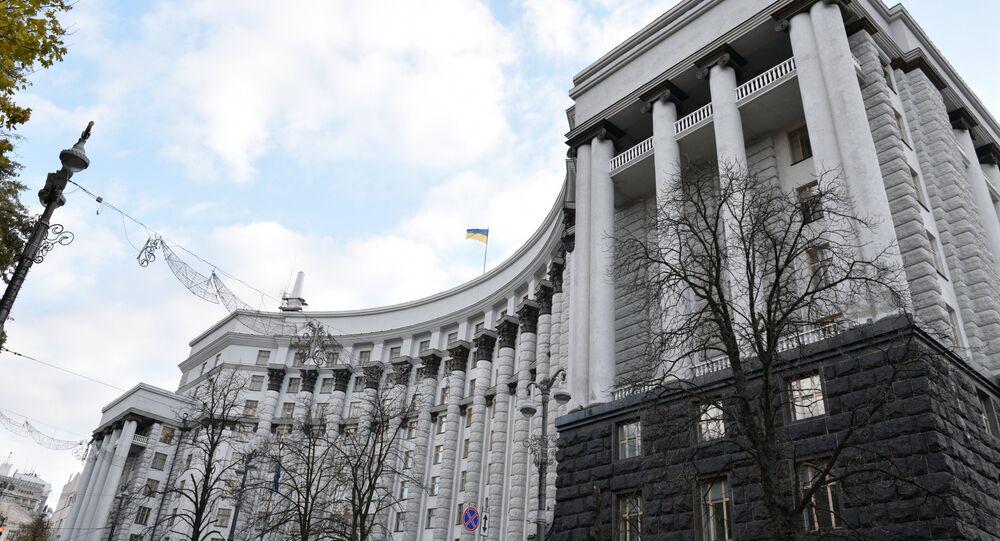 Siège du gouvernement ukrainien