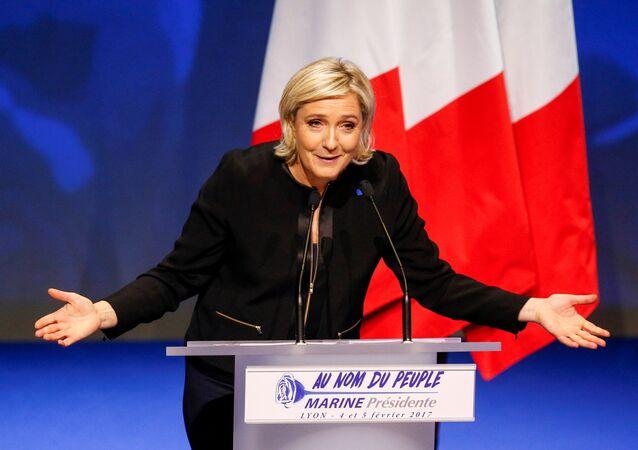 Marine Le Pen en 2017