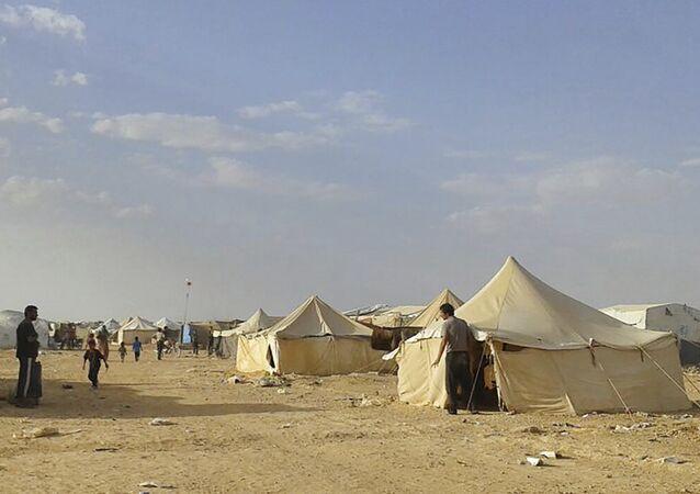 Le camp de Rukban