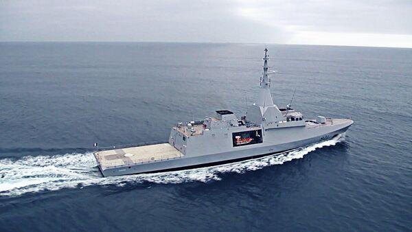 First sea trials of the Gowind 2500 corvette El Fateh (971). - Sputnik France