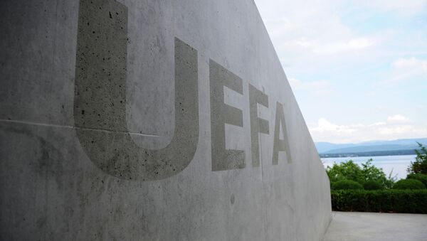 A four-way meeting between Football Union of Russia, Football Federation of Ukraine, UEFA and FIFA was held at UEFA headquarters in Nyon, Switzerland - Sputnik France