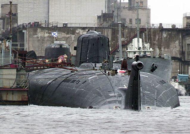 Le sous-marin polonais K-266 Orzel
