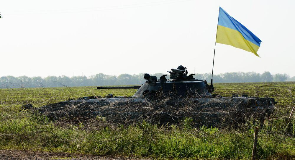 Des militaires ukrainiens dans le Donbass. Archive photo