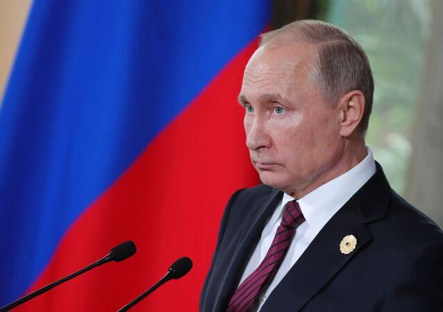 Vladimir Poutine au sommet de l'APEC à Da Nang