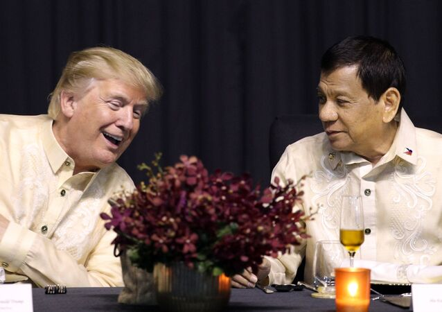 Donald Trump et Rodrigo Duterte