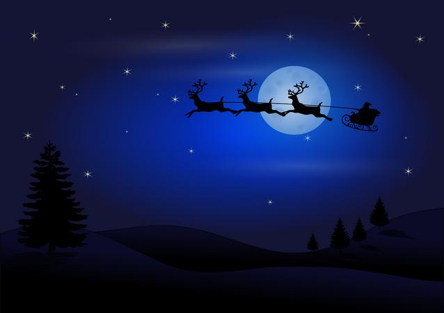 Cette nuit, Père Noël aura un astéroïde dans sa hotte