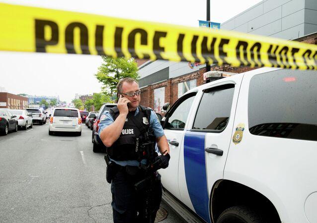 Police aux États-Unis