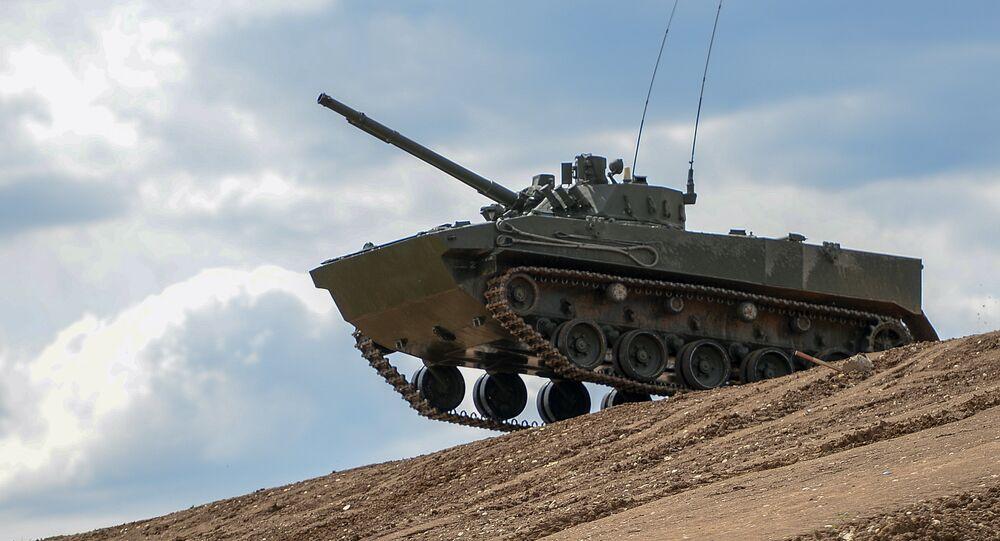 Un BMP russe