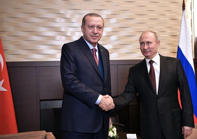 Poutine et Erdogan, 13 novembre 2017, Sotchi
