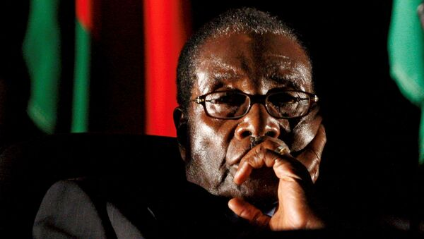 Robert Mugabe, presidente de Zimbabue - Sputnik France