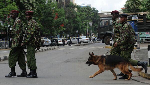 La police kényane à Nairobi - Sputnik France