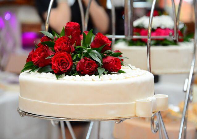 Un gâteau de noce