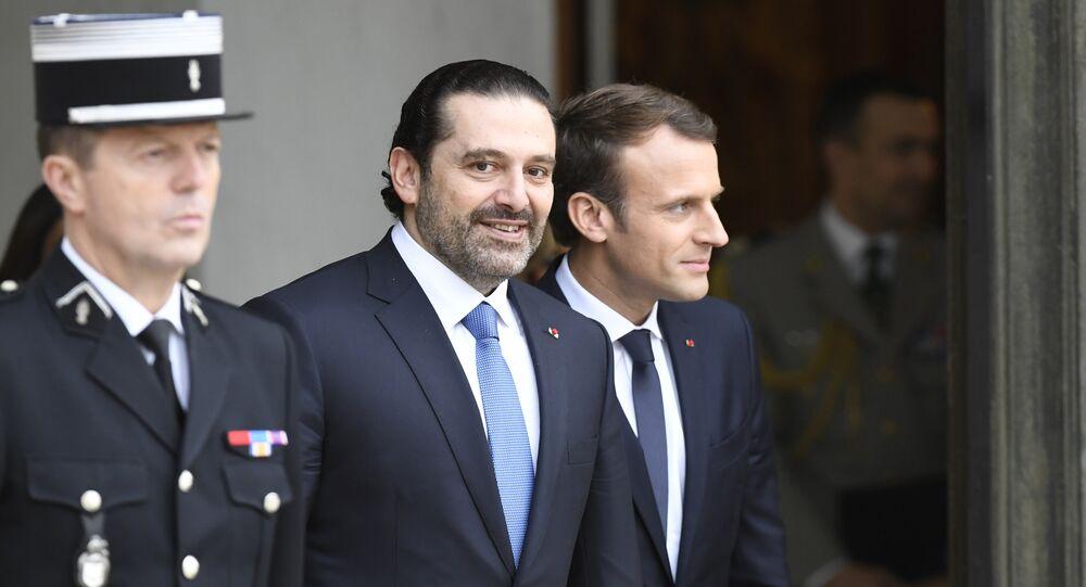 Macron et Hariri