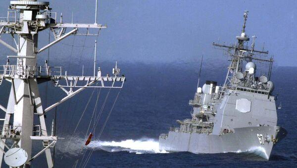 USS Shiloh - Sputnik France