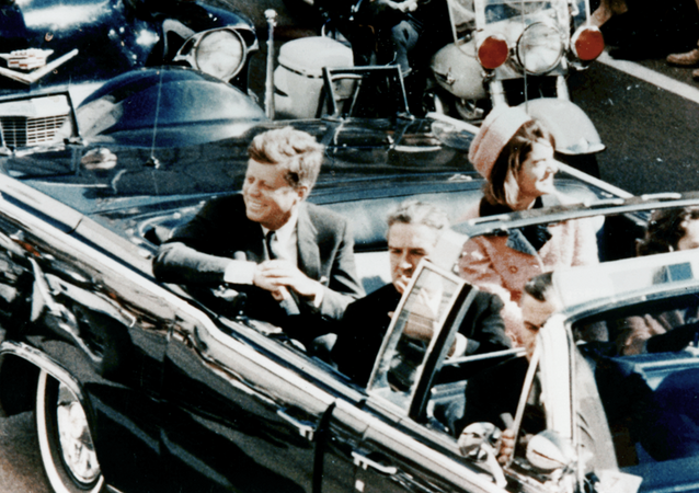 John F. Kennedy avant d'être assassiné