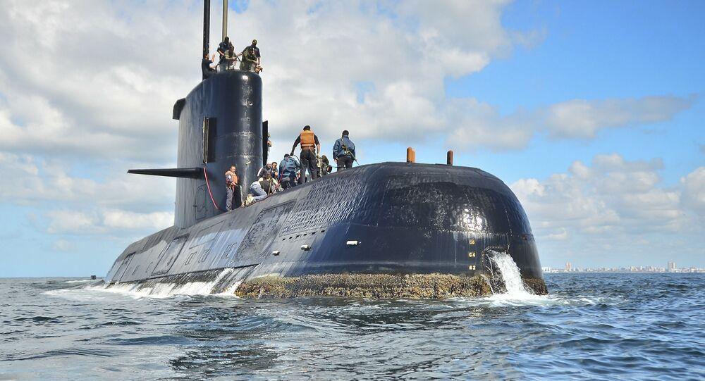 Le sous-marin argentin ARA San Juan, archives