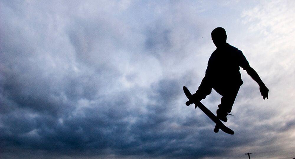 Un skateboard