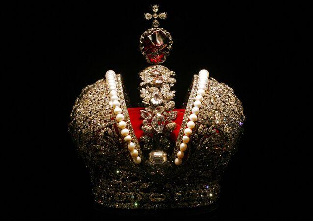 La grande couronne impériale de l'Empire russe