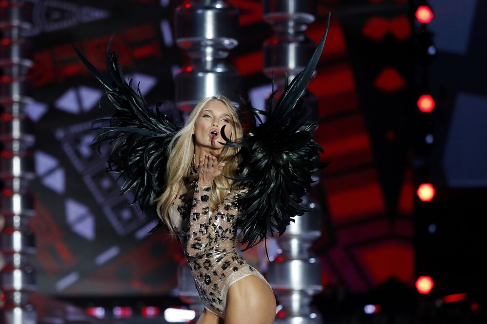Les «anges» de Victoria's Secret à Shanghai