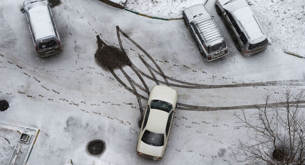 La pluie glacée tombée sur le sud de la Russie joue des tours aux conducteurs (image d'illustration)