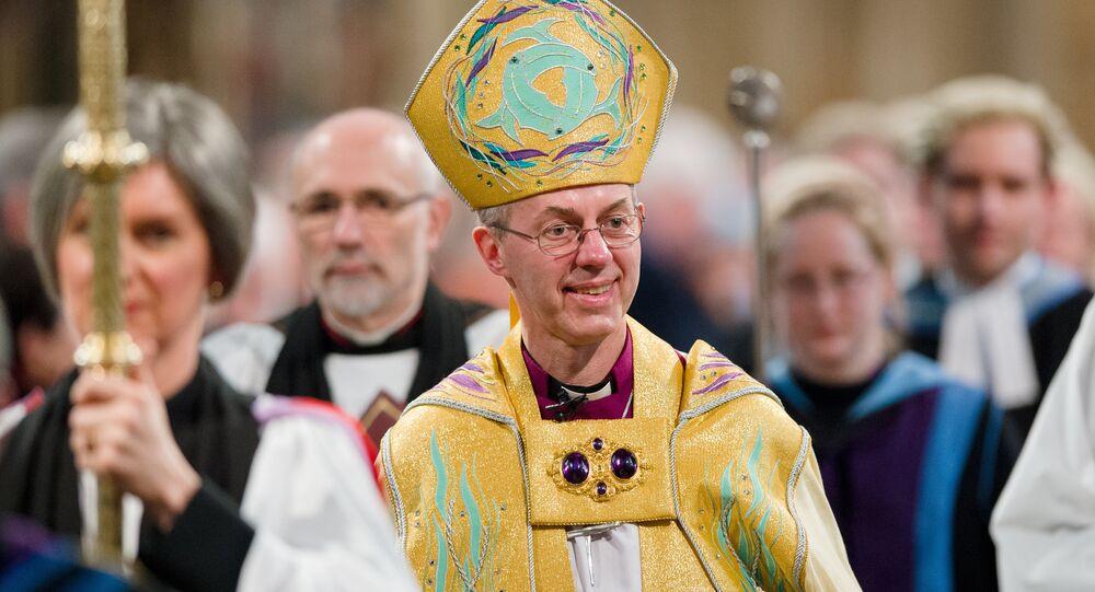 L'Archevêque de Cantorbéry, Justin Welby