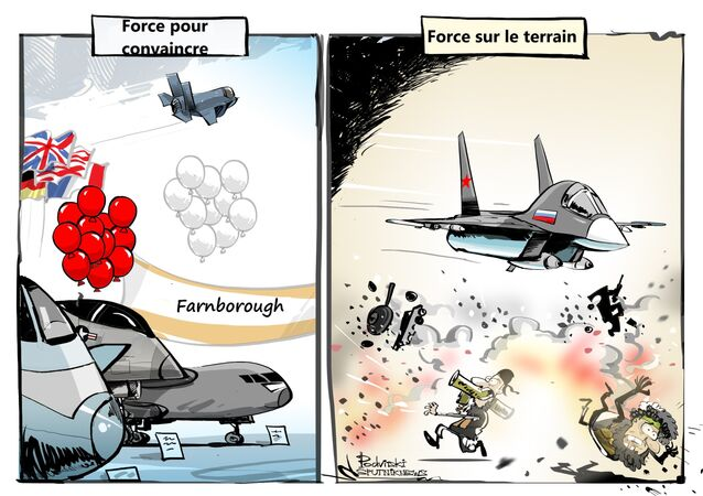 La participation de la Russie au salon de l'aéronautique de Farnborough sera limitée
