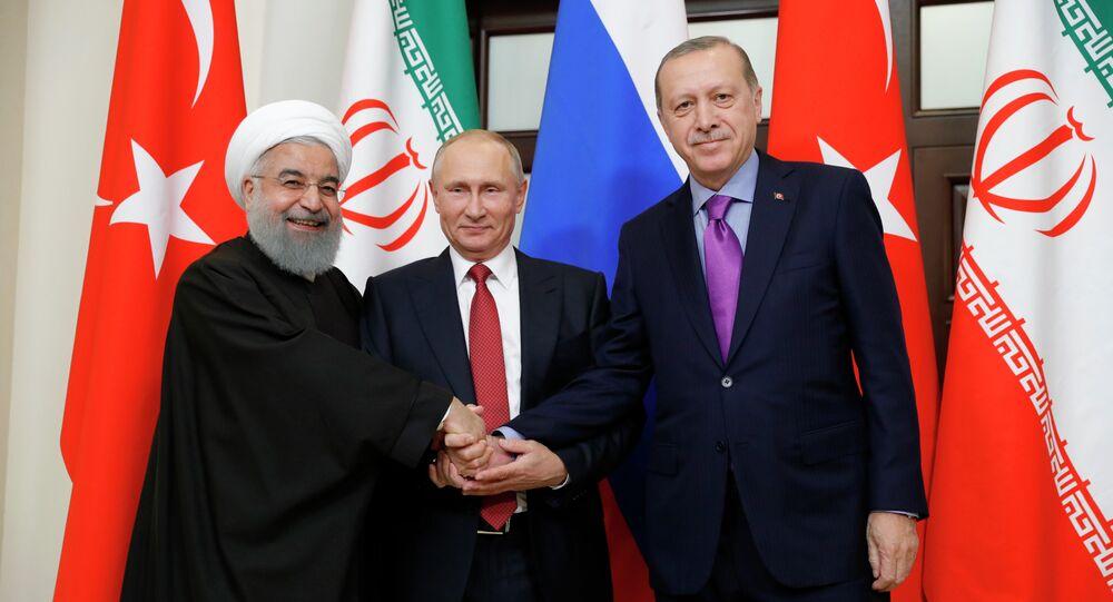 La réunion tripartite des Présidents russe, turc et iranien sur l'avenir de la Syrie