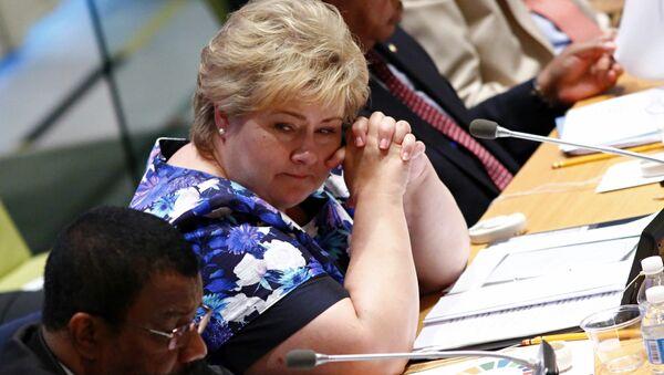 Norway's Prime Minister Erna Solberg (File) - Sputnik France