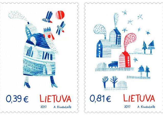 Les timbres de la Poste lituanienne aux senteurs de gingembre
