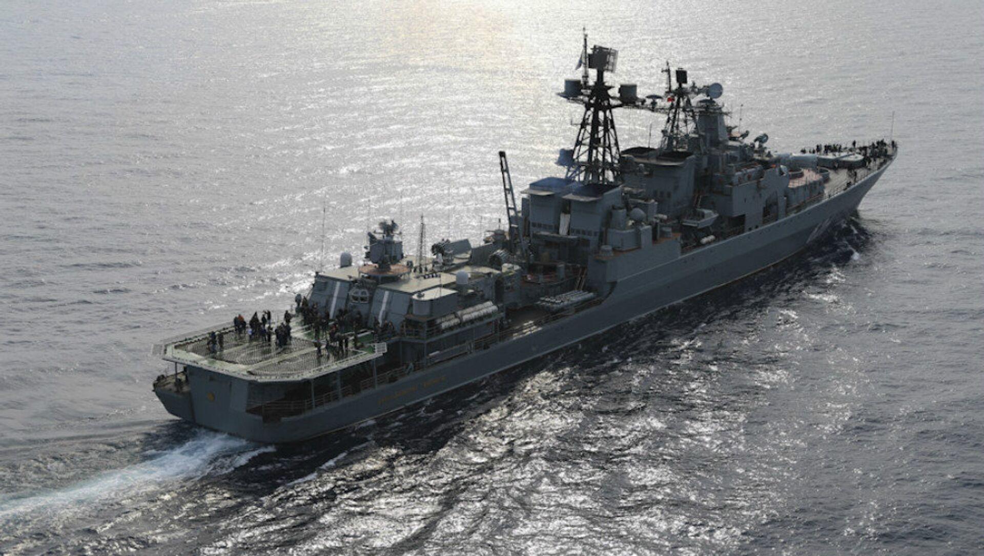 Le destroyer russe Vice-amiral Koulakov - Sputnik France, 1920, 18.08.2021
