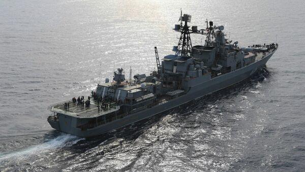 Le destroyer russe Vice-Amiral Koulakov - Sputnik France