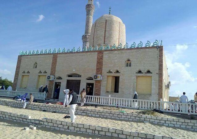 Sur les lieux de l'attaque du Sinai