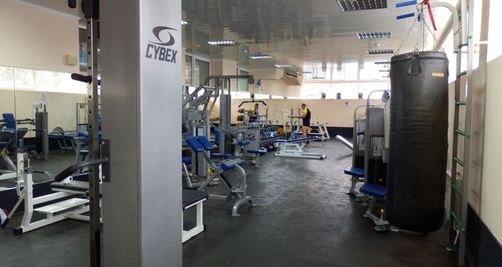 Le gym dans le Centre de sport Évolution