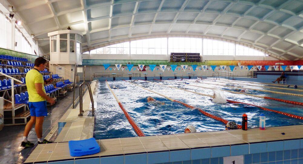 La piscine du Centre de sport Évolution