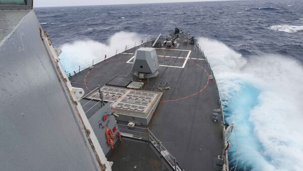 Le destroyer USS James E.Williams - Sputnik France