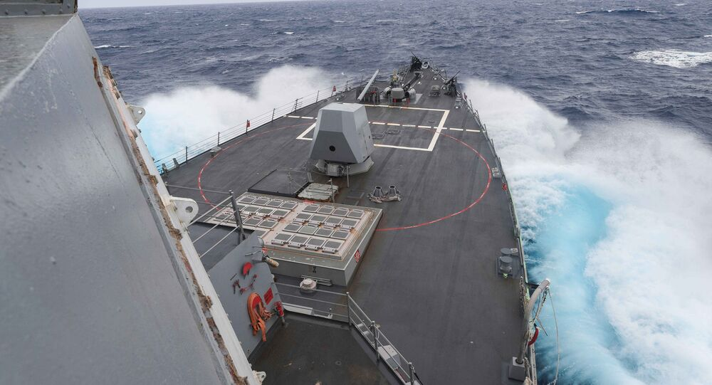 Le destroyer USS James E.Williams
