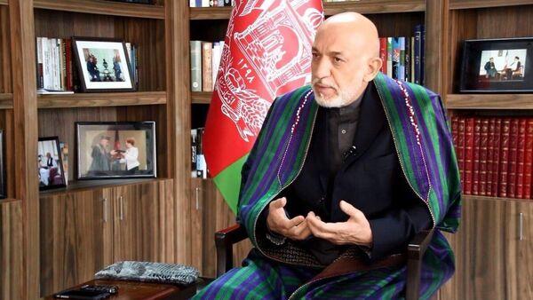 L'ancien Président afghan Hamid Karzaï - Sputnik France