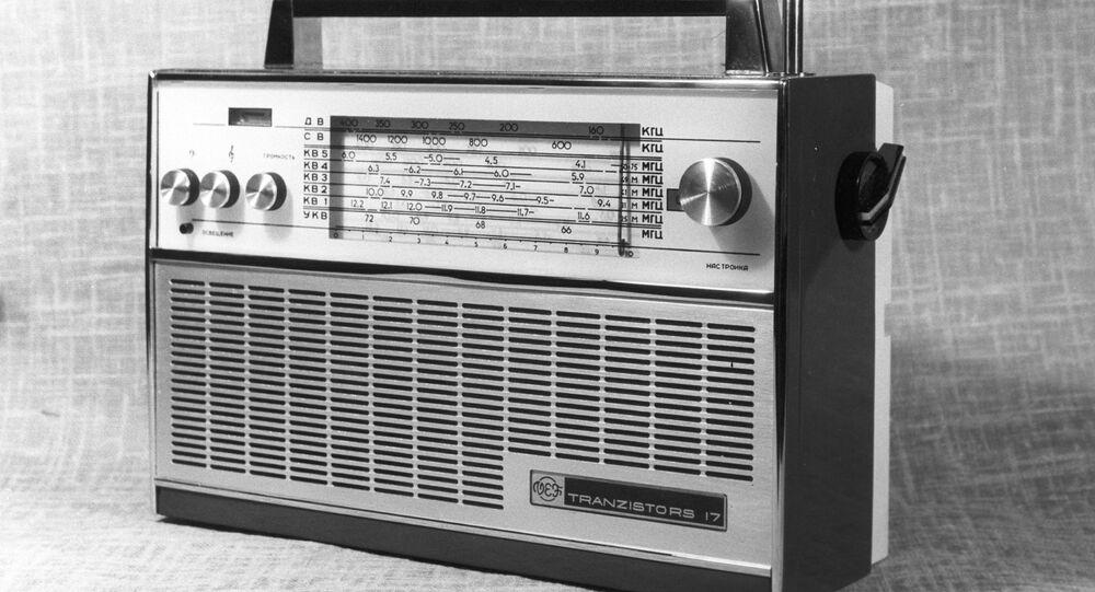 Transistor radio receiver VEF-17